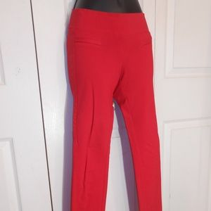 XS//TP Guess red tan grey skinny trouser Super-Stretch Pants